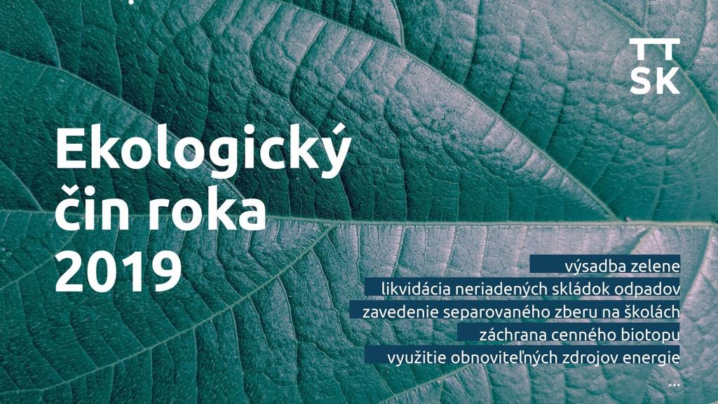 Ekologický čin roka trnavskej župy 2019