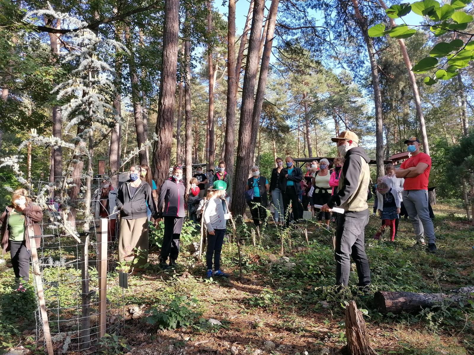V Novej Bani vyrástol záhradný les