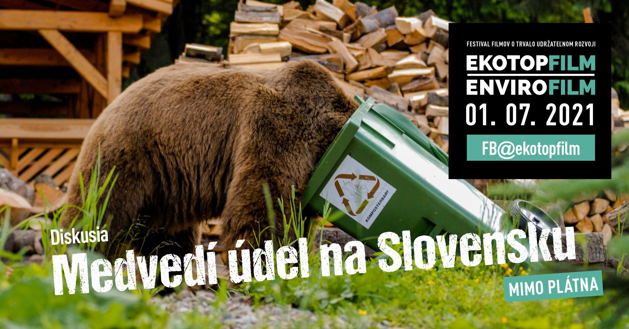 Mimo plátna – Diskusia Medvedí údel na Slovensku